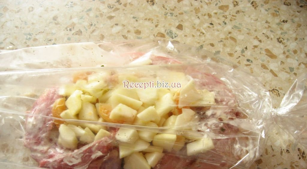 Кролик в духовке в пакете для запекания рецепт пошагово