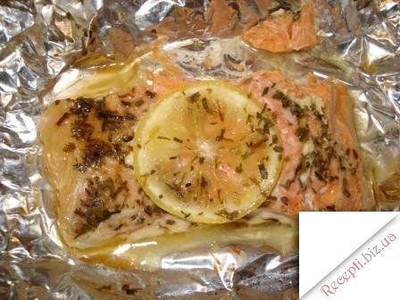 Рыба в фольге с рисом в духовке рецепт с пошагово