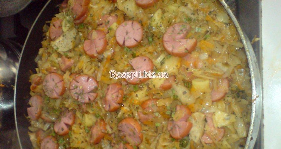 Подлив с сосисками рецепт с фото
