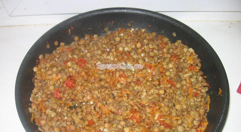 Чечевица гарнир рецепт с пошагово