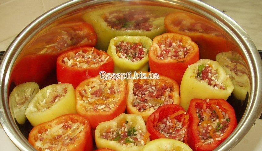 Перцы фаршированные рецепт с пошагово перцы фаршированные рецепт