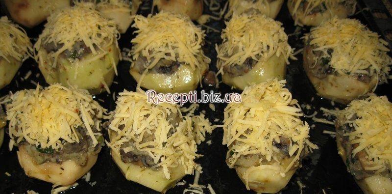 Фаршированный картофель рецепт пошагово