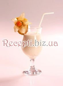 Фото: Банановий коктейль з коньяком