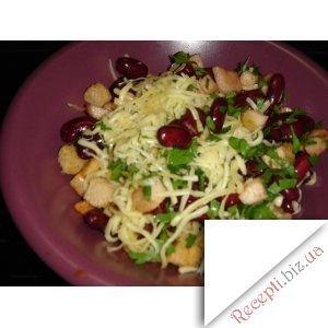 Фото: Салат з квасолі